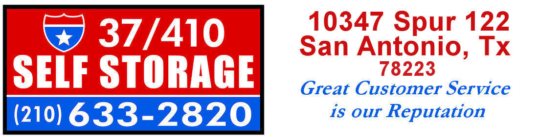 37/410 Self Storage Logo